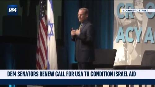 Dem. Lawmakers Call for US to Condition Aid to Israel at J Street Summit
