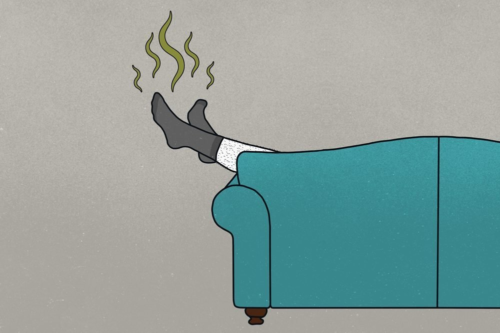 10 Reasons for Smelly Feet—and 10 Solutions
