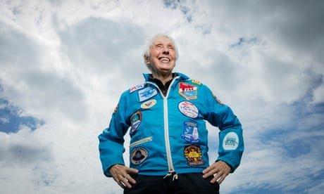 Denied No Longer: Trailblazing Pilot Wally Funk Will Go to Space With Jeff Bezos