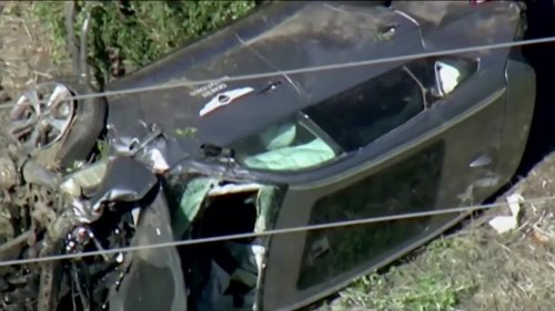 Tiger Woods' car crash caused by speed: LA Sheriff