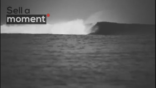 Epic Barrel Wave in Nazare
