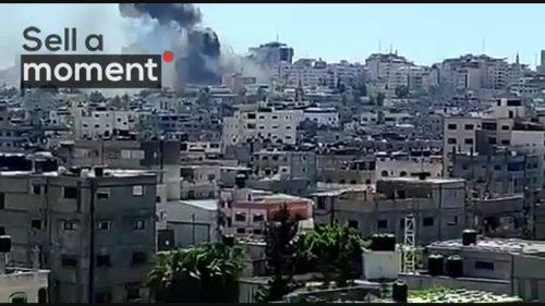 Israeli strike destroys Gaza tower housing media organisations