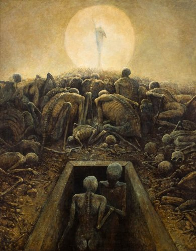 Zdzislaw Beksinski: The Dystopian Surrealist Painter You Should Know