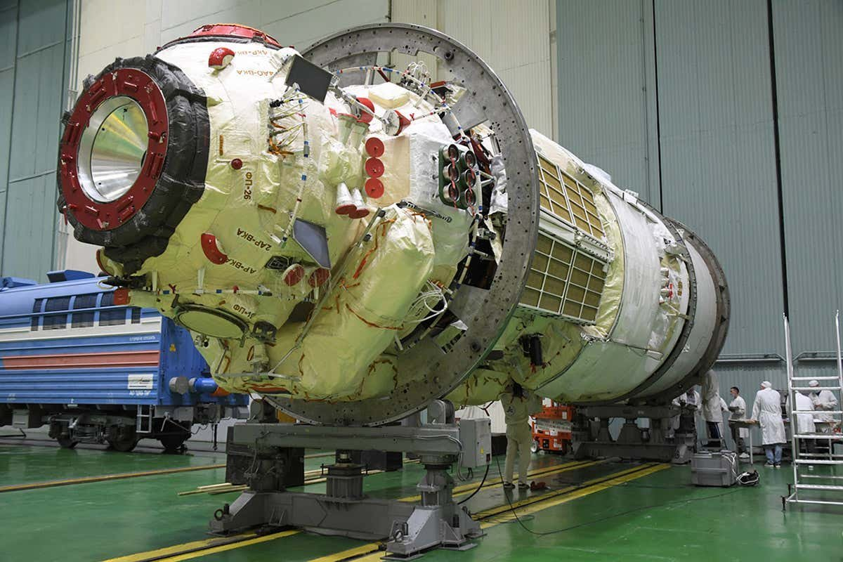 Russia is launching a new module for the International Space Station