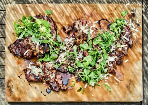 Try this grilled ribeye with balsamic vinegar recipe tonight