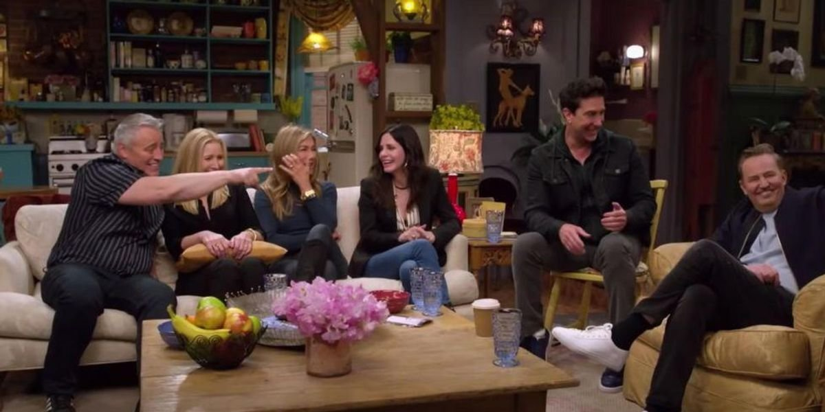Here's How You Can Watch The Friends Reunion Special In Canada