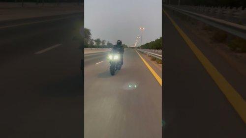 Photographer Shoots Bike Racer in Action