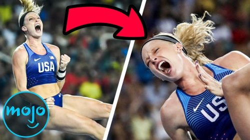 Top 10 Times Olympians Celebrated Too Early