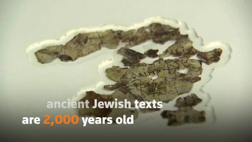 Archaeologists discover ancient Dead Sea Scrolls