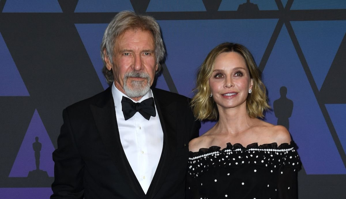 Calista Flockhart Is Apparently Putting Harrison Ford On A Short Leash