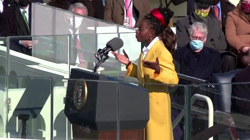 America is 'fierce and free': Youngest-ever inauguration poet