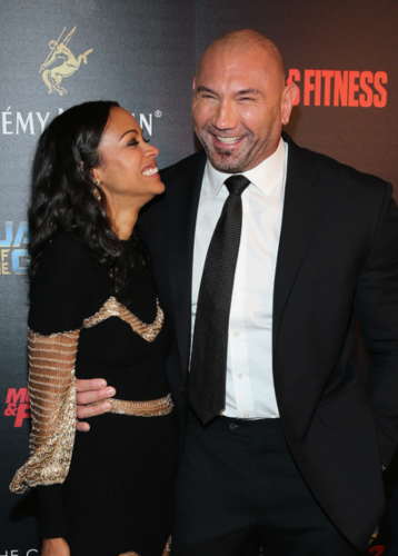 The Truth About Dave Bautista And Zoe Saldana's Relationship