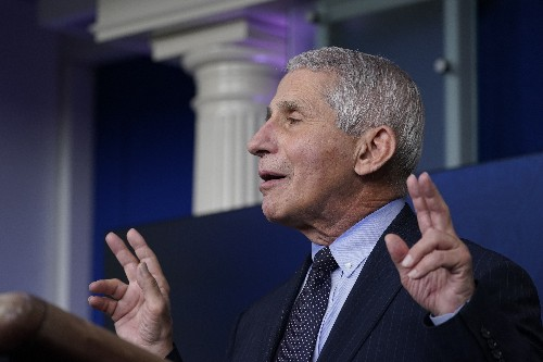 Fauci unleashed: Doc takes 'liberating' turn at center stage