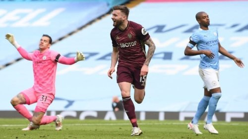 Leeds win at Man City while Liverpool edge past Aston Villa