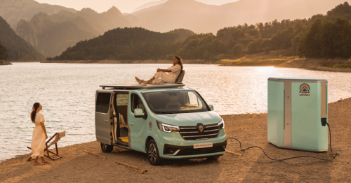 Hippie vans and mobile offices: New campers