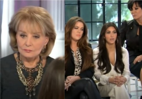 Remembering the time Barbara Walters dropped the hammer on the Kardashians