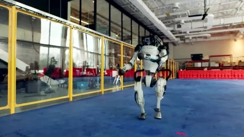 Do the robot! Dancing robots welcome in New Year