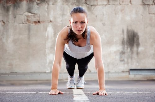 This Plank-Push-Up Hybrid Is the Hardest No-Equipment Move in the Gym