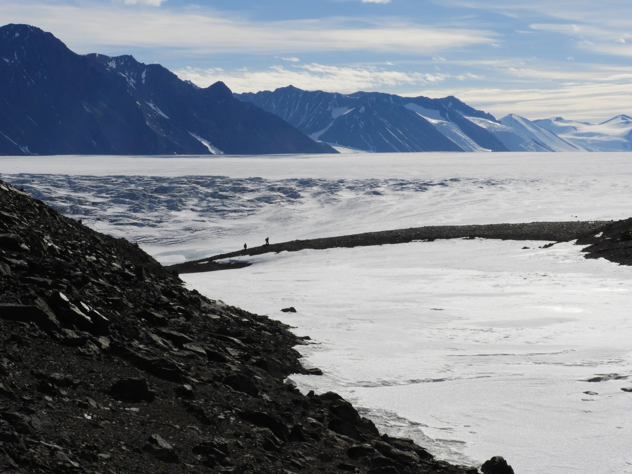 Soils from Antarctica seem to contain no life—something that's never been found