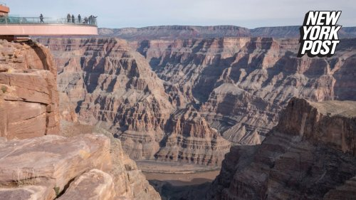 Man dies after driving over Grand Canyon's western rim in apparent suicide