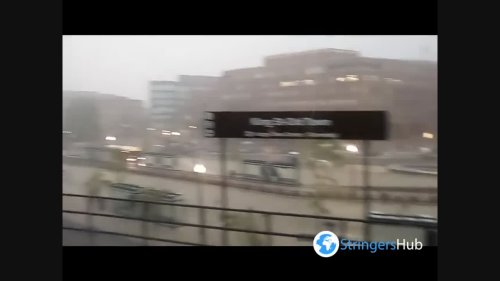 US: Heavy Rainfall Hits DC Area Causing Flood And Road Closures 4