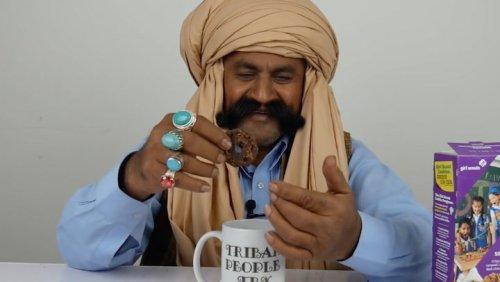 Punjabi Men Try American Girl Scout Cookies