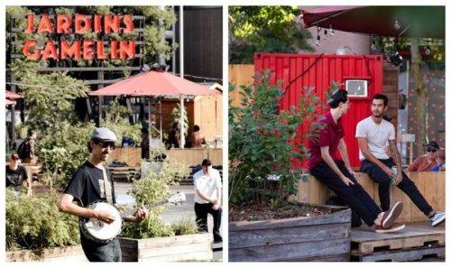 Les Jardins Gamelin rouvrent ce week-end à Montréal