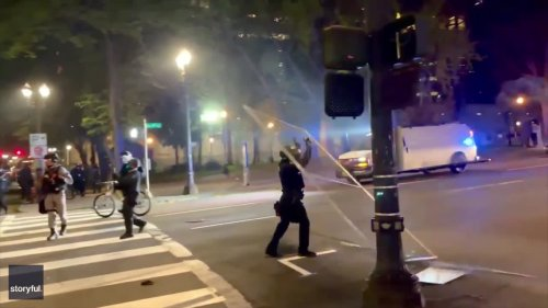 Riot Declared as Protests Erupt Over Fatal Police Shooting in Portland