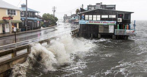 "Tropical Storm Elsa bringing ""torrential rains"" to Carolinas as it heads up East"