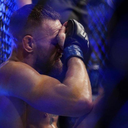 Conor McGregor Suffered a Broken Leg in TKO Loss to Dustin Poirier at UFC 264