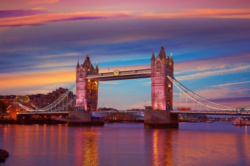 Most Stunning Landmarks, Bridges and Sunsets in London
