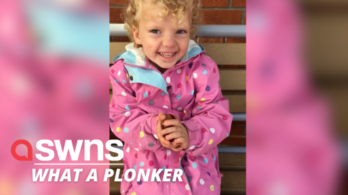Hilarious moment 3-year-old insists on calling conkers PLONKERS