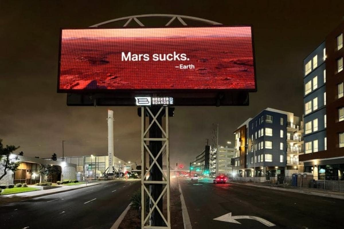 ELON MUSK wants to Save Earth but is wild about Mars?