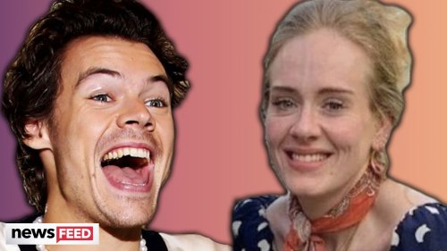 Harry Styles' WILD HISTORY With Adele Explained!