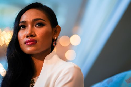 Beauty queen takes Myanmar's democratic fight to international stage