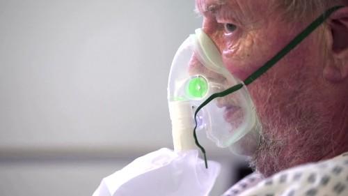 Fighting for life on the UK's virus frontline