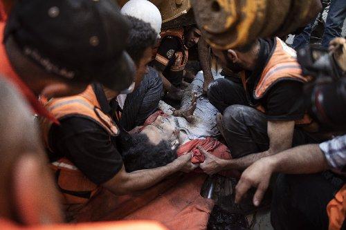 Israeli strikes kill 26, topple buildings in Gaza City