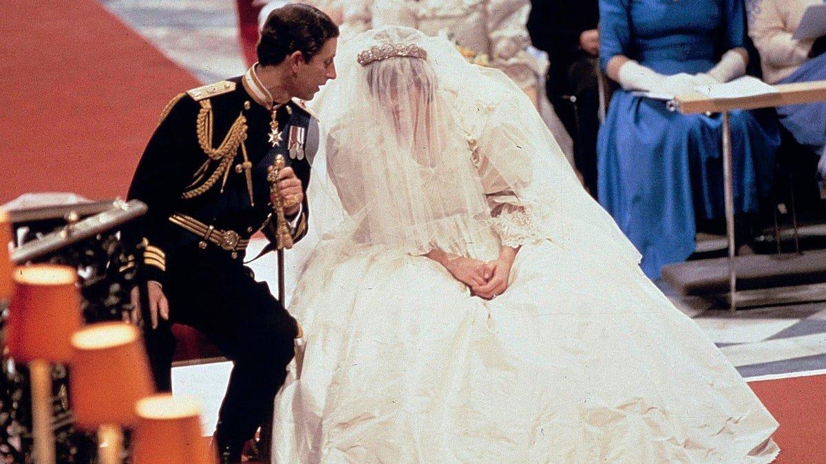 Princess Diana's Wedding Dress Is Definitely Haunted, Right?
