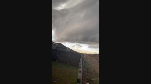 Tornado-Warned Supercell Menaces Lubbock in Dramatic Timelapse Video