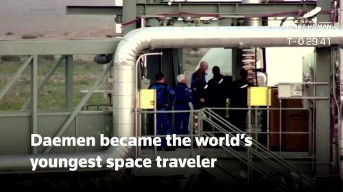 Dutch teen on Bezos' space flight never ordered Amazon