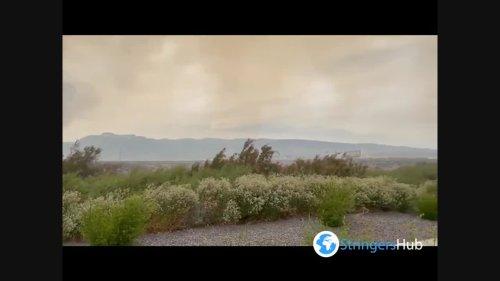 """US: """"Petrilla Fire"""" In Reno, Nevada"""