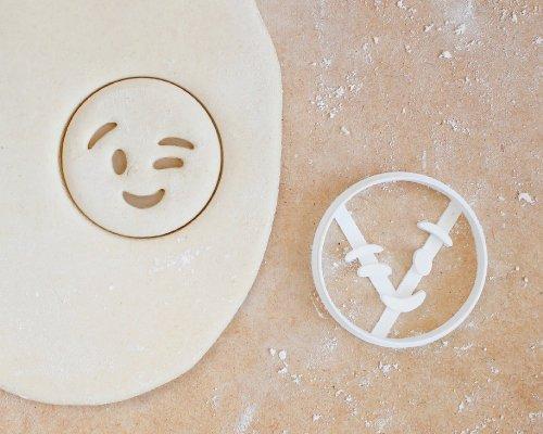 Wink Emoji Cookie Cutter Adult Cookie Cutter Poop Emoji | Etsy