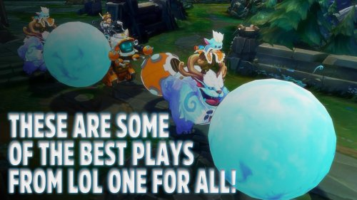 These are some of the best plays from LoL One for All!