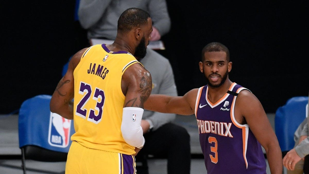 Sorry, Phoenix: The reward for your historic season is playing the Lakers