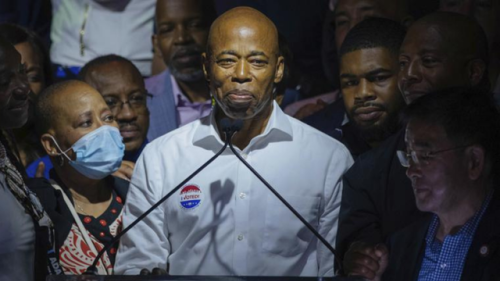 Adams takes fragile lead in NYC Democratic mayoral primary