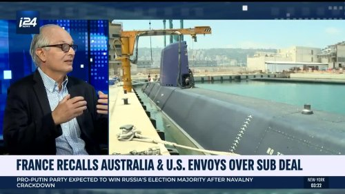 France decries 'duplicity' in US and Australia submarine deal