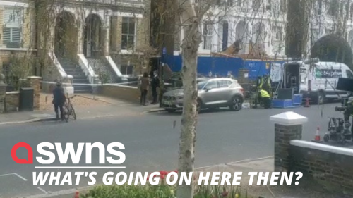Cast of new BBC crime drama The Chelsea Detective spotted filming in London (RAW)