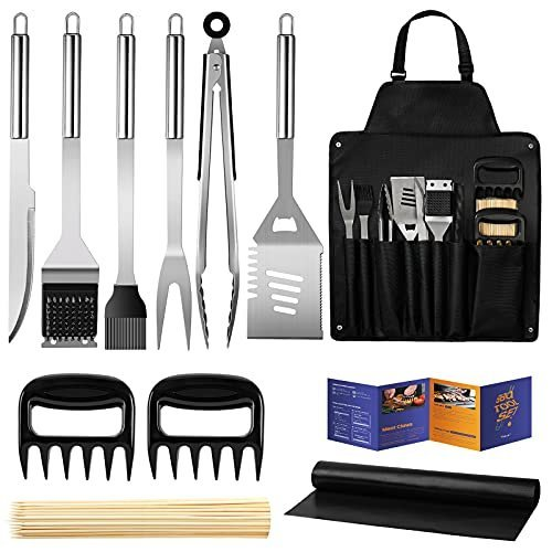 Grill utensils set