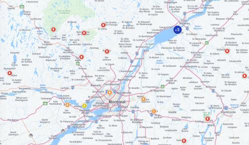 8 endroits où les couleurs sont à leur apogée au Québec en ce moment