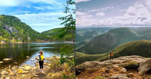 Cette randonnée au Québec te donnera l'impression d'être dans l'Ouest canadien